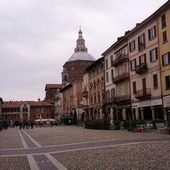 Photo taken at Piazza della Vittoria by Tiziana M. on 4/1/2013
