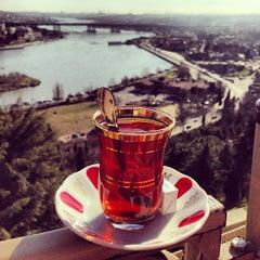 Photo taken at Pierre Loti Tepesi by Hüseyin D. on 1/16/2013