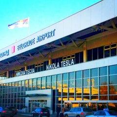 Photo taken at Nikola Tesla Airport (BEG) by BoKa V. on 12/30/2012