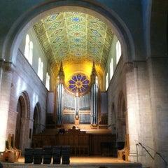 Photo taken at Shove Chapel by Karen F. on 12/1/2012