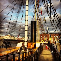 Photo taken at SS Great Britain by Pamela K. on 6/1/2013