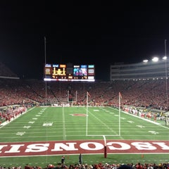 Photo taken at Camp Randall Stadium by Anthony on 11/18/2012