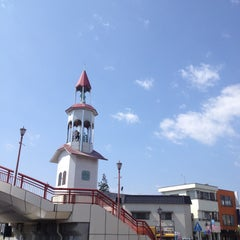 Photo taken at 石橋駅 (Ishibashi Sta.) by Hideo Y. on 4/15/2013