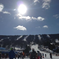 Photo taken at Camelback Mountain Resort by Brian S. on 2/9/2013