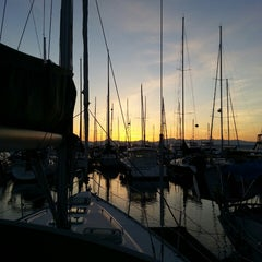 Photo taken at Elliott Bay Marina by Pete D. on 4/3/2013