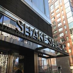 Photo taken at Shake Shack by Lili on 12/4/2012