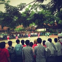 Photo taken at SMA Negeri 11 Bandung by Krisna F. on 1/18/2013