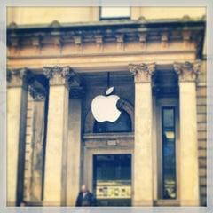 Photo taken at Apple Store, Buchanan Street by Gene on 2/21/2013