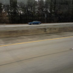 Photo taken at Interstate 85 by Christye on 2/23/2013