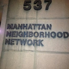 Photo taken at Manhattan Neighborhood Network by Ronda F. on 6/13/2013