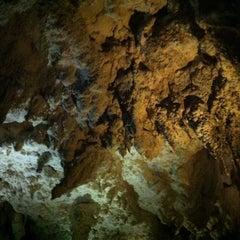 Photo taken at Waitomo Glowworm Caves by Isabella P. on 1/25/2013