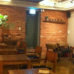 Photo taken at AZABU by Yoonie K. on 11/5/2012