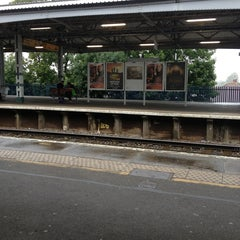 Photo taken at Epsom Railway Station (EPS) by Sj H. on 9/9/2013