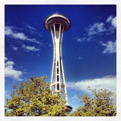 Photo taken at Space Needle by Luis C. on 10/1/2013