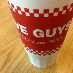 Photo taken at Five Guys by John JC N. on 6/6/2013