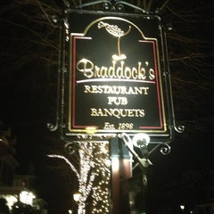 Photo taken at Braddock's Tavern by Ellen on 3/10/2013