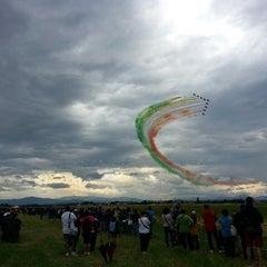 """Photo taken at Aeroporto di Parma """"Giuseppe Verdi"""" (PMF) by Fede on 6/9/2013"""