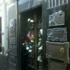 Photo taken at Eva Peron's Grave by Maru S. on 4/21/2013