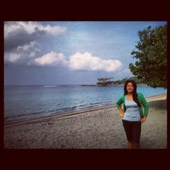 Photo taken at Pantai Senggigi by Maria L. on 10/20/2012
