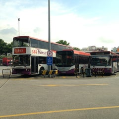 Photo taken at Hougang Central Bus Interchange by Dian on 9/3/2013