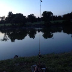 Photo taken at North Lake Park by Brett W. on 6/22/2014