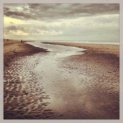 Photo taken at Strand Noordwijk aan Zee by Christian G. on 2/9/2013