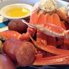 Photo taken at Rockfish Seafood Grill by Jessica S. on 11/26/2012