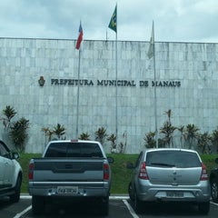 Photo taken at Prefeitura Municipal de Manaus by Amos C. on 1/10/2013