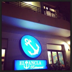 Photo taken at El Ancla Restaurant by Pitu on 3/1/2013