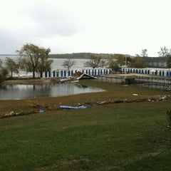 Photo taken at Davenport Beach Club by Peter B. on 10/30/2012