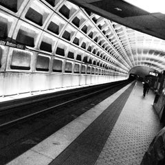 Photo taken at Foggy Bottom-GWU Metro Station by Tim M. on 2/28/2013
