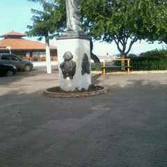 Photo taken at Praça do Pescador by Vanusa F. on 12/28/2012