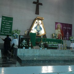 Photo taken at Parroquia Nuestra Señora de San Juan de los Lagos by Antonio R. on 1/20/2013