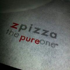Photo taken at zpizza by Jeff D. on 10/16/2012