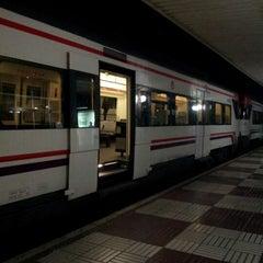 Photo taken at RENFE Reus by David B. on 10/18/2012