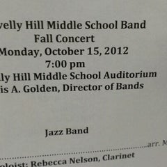 Photo taken at Gravelly Hill Middle School by Mike N. on 10/15/2012