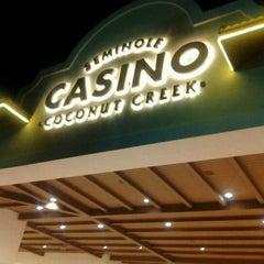 Photo taken at Seminole Casino Coconut Creek by Tammy V. on 9/17/2012