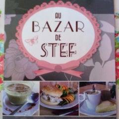 Photo taken at Au Bazar De Stef by Barbara A. on 12/14/2012