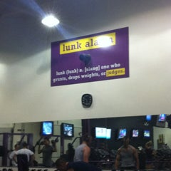 Photo taken at Planet Fitness by Laura on 7/11/2013
