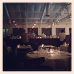 Photo taken at Bistrotheque by Christina D. on 9/30/2012