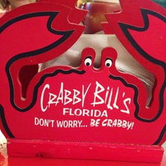 Photo taken at Crabby Bill's Seafood by Debbie B. on 7/15/2013