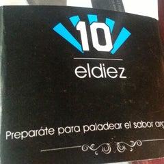 Photo taken at El Diez by Carlos L. on 2/5/2013