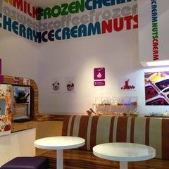 Photo taken at Frozen yogurt Berry Berry Boom by Sergey B. on 8/23/2013