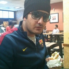 Photo taken at Subway by Junaid A. on 12/1/2013