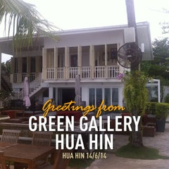 Photo taken at Green Gallery Bed & Breakfast Hua Hin by Piya U. on 6/14/2014