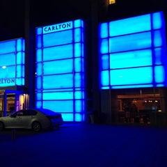 Photo taken at The Carlton Hotel Tel Aviv by Svetlana on 10/20/2012
