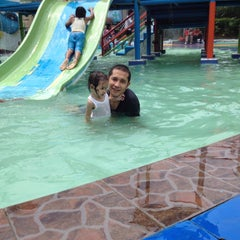 Photo taken at Hairos Indah Waterpark by irwan y. on 8/23/2015