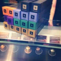 Photo taken at Nespresso Boutique by Tjark C'est qui Maurice ? on 8/22/2013