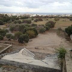 Photo taken at Αρχαιο Σταδιο - Hellenistic Stadium by Fevzi T. on 10/17/2013