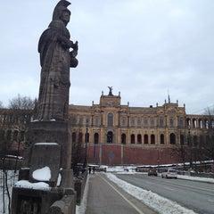 Photo taken at Bayerischer Landtag by Fevzi T. on 1/27/2013
